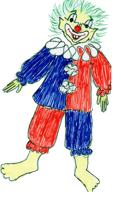 quadrich clown